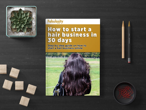 How to start a hair extensions business (E-book)