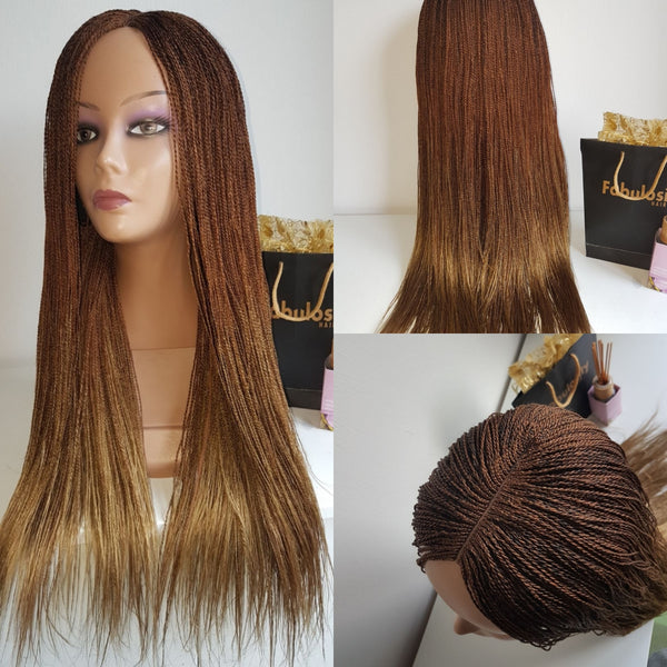 Million Braids (Light brown) 24 inches
