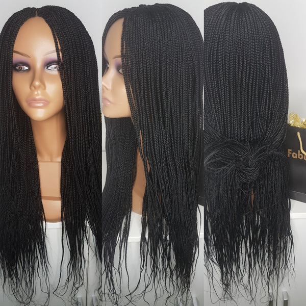 Box braided wig (Closure)