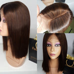 Blunt cut bob wig 12 inches