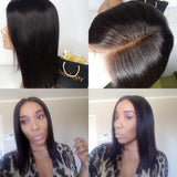 Blunt cut bob wig (Black) 12 inches