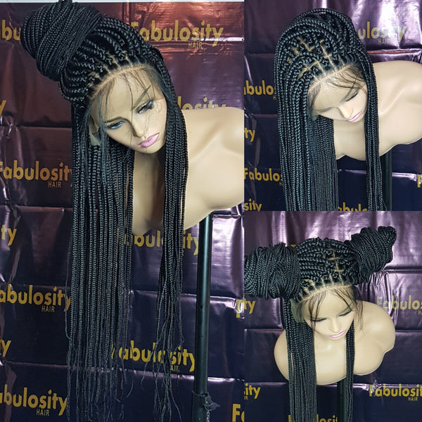 Box braided wig  (Jayda)