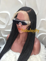 Corn row frontal braids wig (Rita)