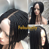 Closure cornrow wig (Tilda)