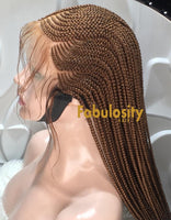 Cornrow frontal braided wig (Imelda)