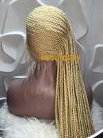 Cornrow Full lace wig in Lemonade style (613)