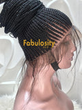 Cornrow full lace wig (Nova)