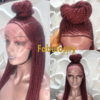Cornrow full lace wig (Sheila) 132