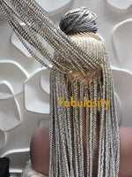 Cornrow full lace wig (Sheila) 51 and 56
