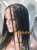 Knotless braided wig Ombre (Davina)