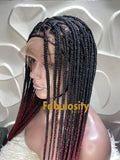 Knotless braided wig Ombre 1b/39 Triangle (Davina)