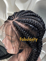 Full lace braided wig (Marsha)
