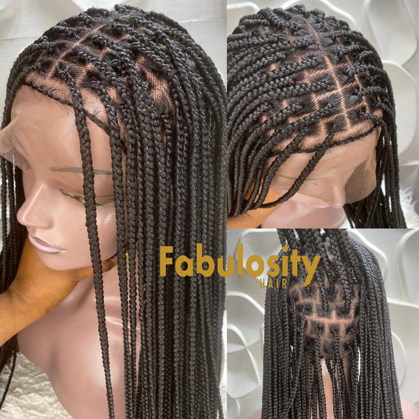 Knotless braided wig smaller cut (Davina)