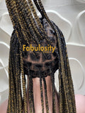 Knotless braided wig full lace wig 1b and 27 (Davina)