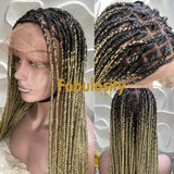 Knotless full lace wig 27 and 613 (Davina)