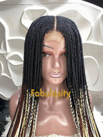 Tilda closure wig (Ombre)
