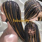 Knotless full lace wig 1b and 30 (Davina)
