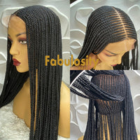 Darcy full lace cornrow wig