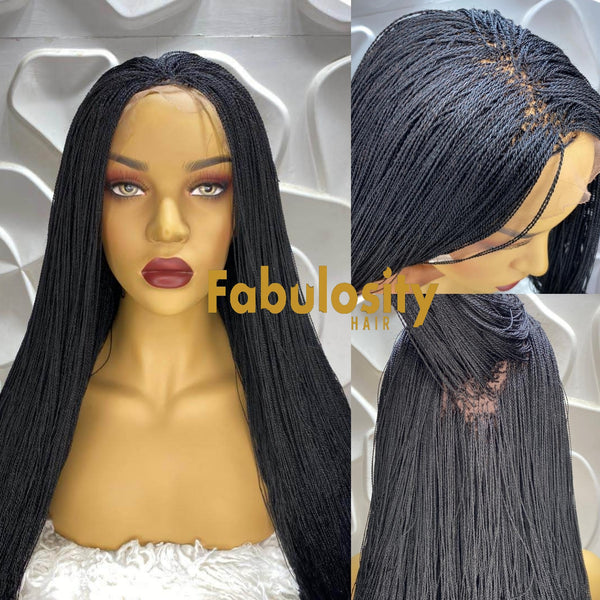 Elsie (Micro million braids Full lace wig)