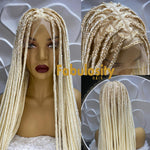 Knotless full lace wig  (613)