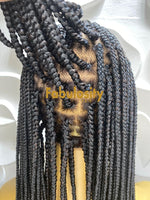Ava box braids Unit