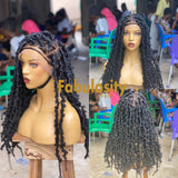 Butterfly locs full lace Wig (24 inches)