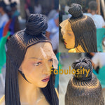 Ponytail braided wig frontal (Sheila)