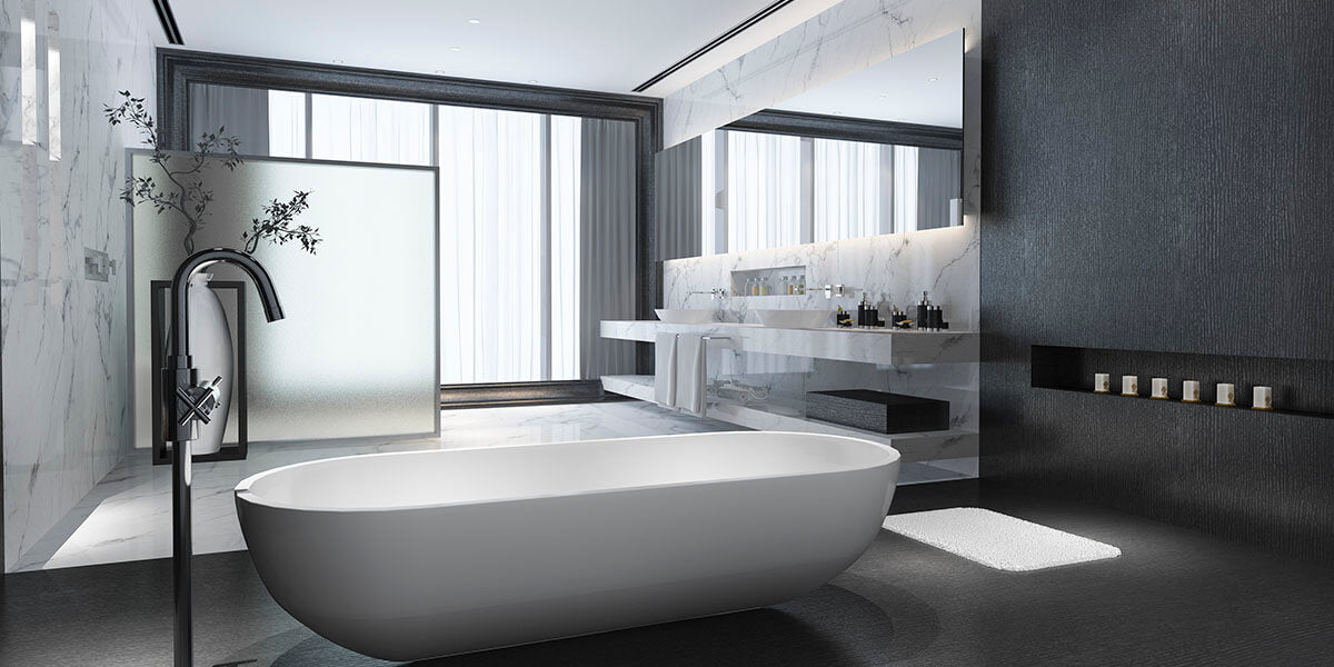 What to expect in modern bathroom?