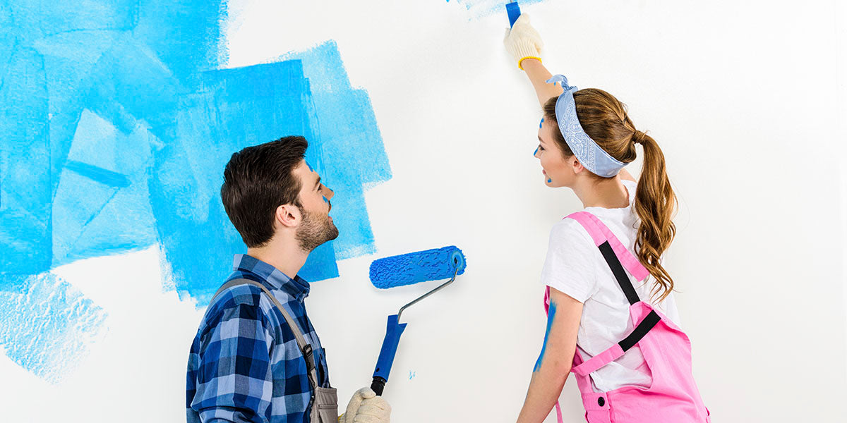 How to paint a wall like an expert with a few simple steps.