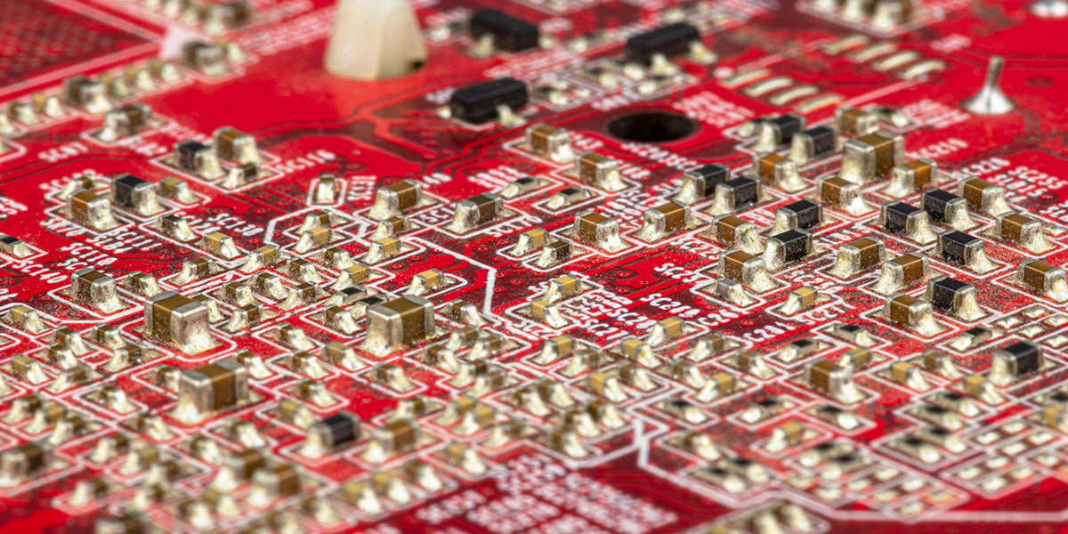 close view on transistor for processing power