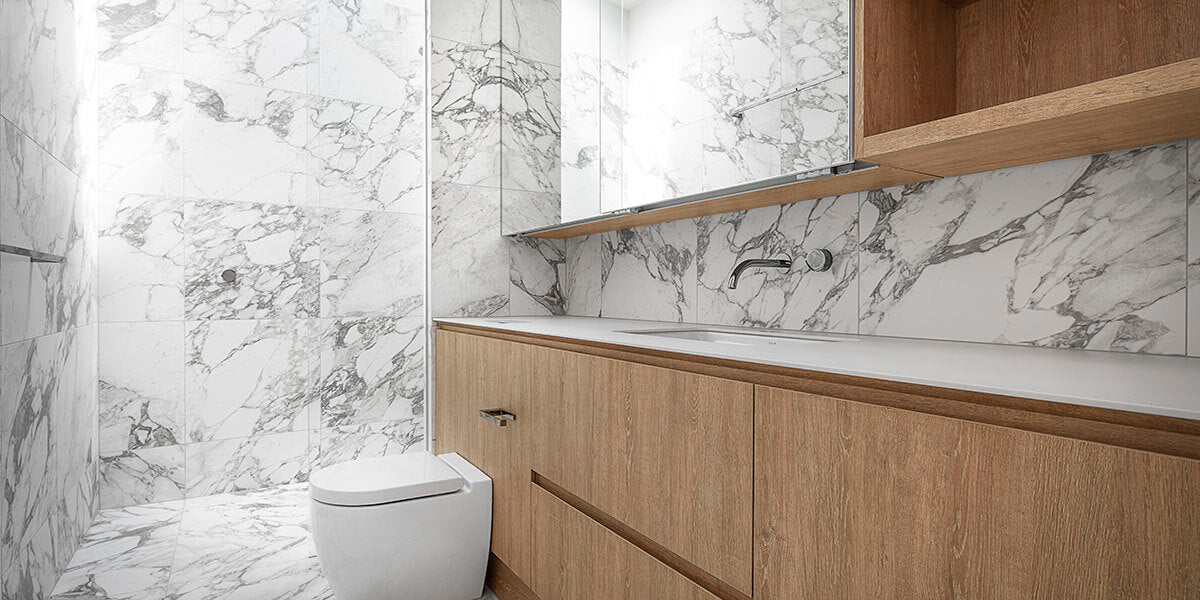 What type of marble tiles to use?