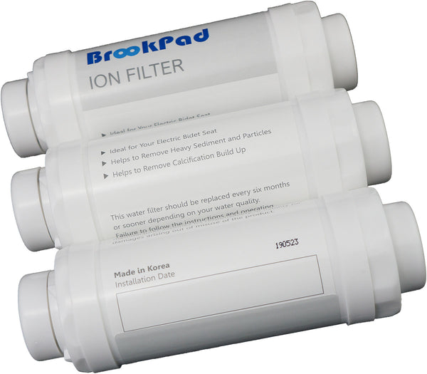 Ion Water Filter 4x Pack for Smart Toilets - BrookPad United Kingdom