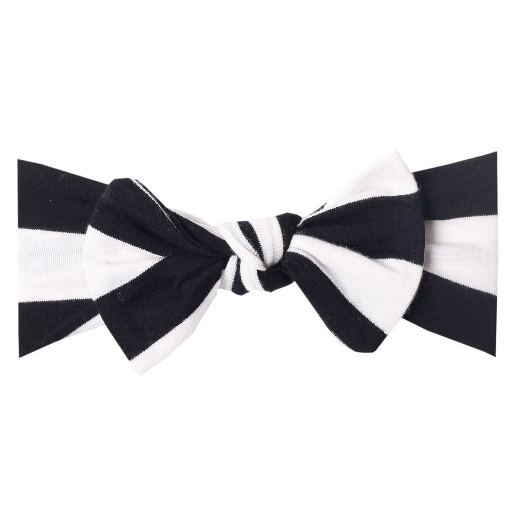 Classic Knit Headband Bow - Itty Bitty Co