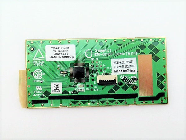 Acer 56.WC501.001 TouchPad Board Gateway ID58 56.17025.091