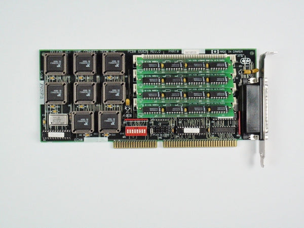 Cnet EC001 Controller Card 8-Port RS-232 Echo/ISA DFlex8 1EC018N