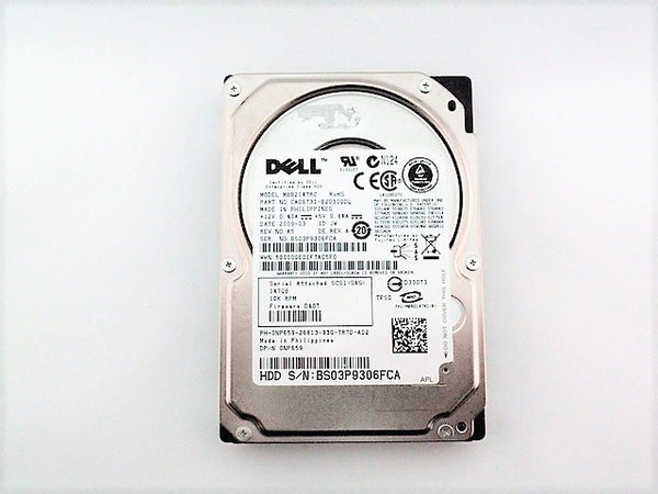Dell NP659 Hard Drive 146GB SAS 10K 2.5 PowerEdge MBB2147RC 390-0375 - ITPartStore Canada .ca