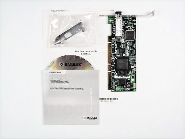 Emulex LP982-F2 Fibre Channel Card 2GB PCI-x Lightpulse FC1020042-02G - ITPartStore Canada .ca