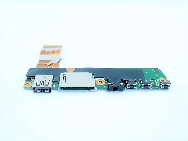 Lenovo 5C50K13630 Used USB Card Reader Audio Button Board Flex 3-1130