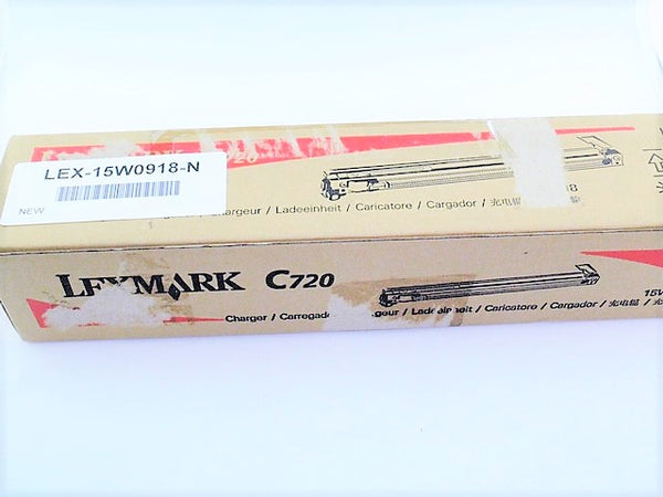 Lexmark 15W0918 New Charger Charge Roller OEM Genuine Optra C720