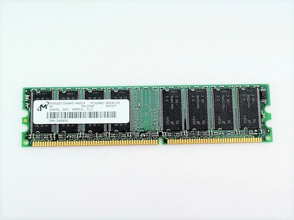 Micron MT8VDDT3264AG-40BC4 RAM Memory DIMM 256MB PC3200U CL3