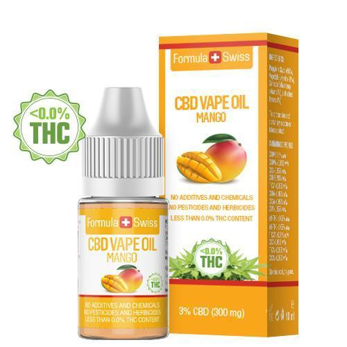CBD Vape Oil Mango 3% (300 mg)