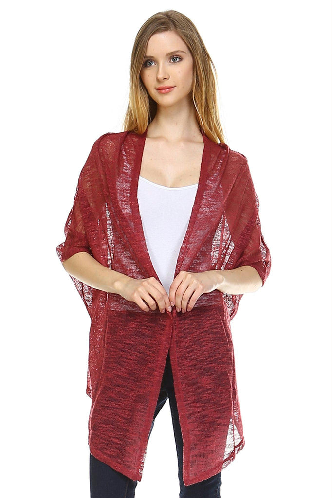 Women's Knit Cardigan Top