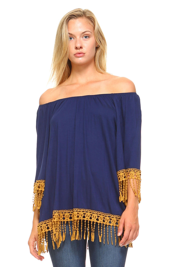 Women's Crochet Lace Tunic