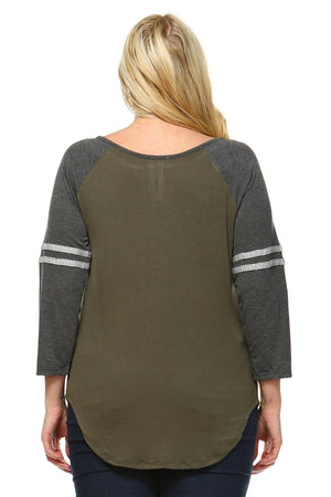 Women's Plus Size Soft Sweatshirt
