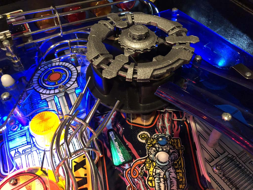 Space station pinball mod