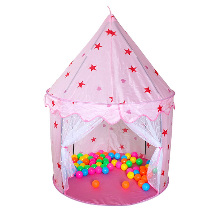 Folding Children Play Tents Portable Teepee Game Toy Castle House Indoor Outdoor