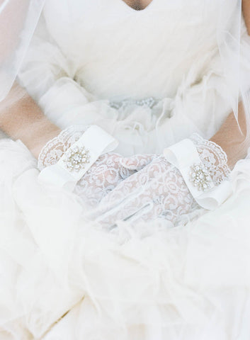 """Jayne"" Bridal Gloves"