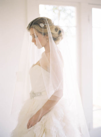 "Ruffled Blog ""Lucille"" Bridal Veil"