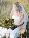 "Green Wedding Shoes ""Lucille"" Bridal Veil"