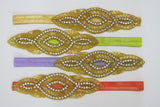 """Yasmin"" Beaded Headband"